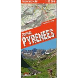 TerraQuest Centrální Pyreneje 1:50 000 turistická mapa