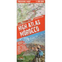 TerraQuest Vysoký Atlas, Maroko 1:100 000 turistická mapa