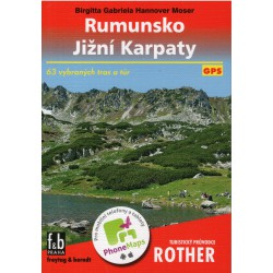 Freytag a Berndt Rumunso - Jižní Karpaty průvodce Rother