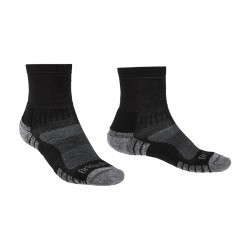 Bridgedale Hike Lightweight Merino Performance Ankle black/silver trekové ponožky Merino