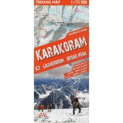 TerraQuest Karakoram, K2, Gasherbrum, Broad Peak  1:175 000 turistická mapa