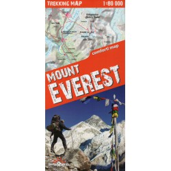 TerraQuest Mount Everest 1:80 000 turistická mapa