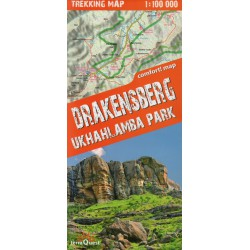 TerraQuest Drakensberg,Ukhahlamba park (Jižní Afrika)  1:100 000 turistická mapa