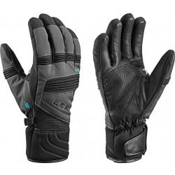 Leki EleMents Palladium S charcoal/black unisex voděodolné rukavice