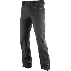 Salomon Ranger Mountain Pant M black 397307 pánské softshellové kalhoty (1)