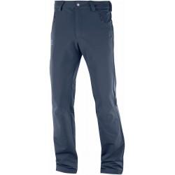 _Salomon Wayfarer Warm Straight Pant M night sky 404088 pánské turistické kalhoty