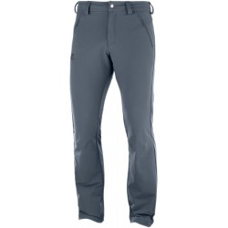 Salomon Wayfarer Warm Straight Pant M ebony C11816 pánské turistické kalhoty
