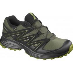 Salomon XT Calcita GTX grape leaf/black/guacamole 407426 pánské běžecké nepromokavé boty