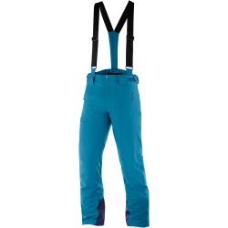 Salomon Iceglory Pant M lyons blue C12236 pánské nepromokavé zimní lyžařské kalhoty (1)