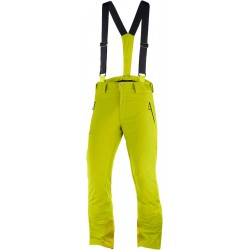 _Salomon Iceglory Pant M citronelle C12238 pánské nepromokavé zimní lyžařské kalhoty