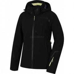 Husky Gerbis L černá dámská nepromokavá zimní lyžařská bunda HuskyTechStretch 15000