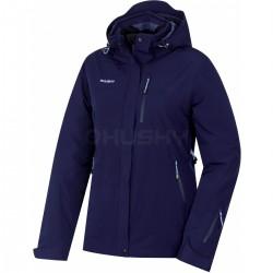 Husky Gairi L tmavě modrá dámská nepromokavá zimní lyžařská bunda