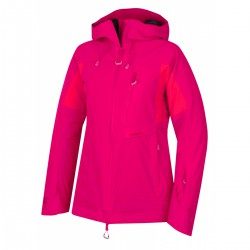 Husky Gotha L světle růžová dámská nepromokavá zimní lyžařská bunda