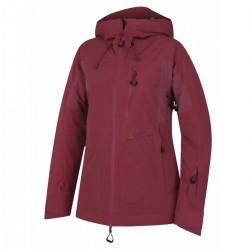 Husky Gotha L vínová dámská nepromokavá zimní lyžařská bunda