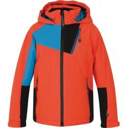 Husky Zawi Kids oranžová dětská nepromokavá zimní lyžařská bunda