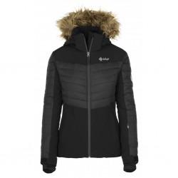 Kilpi Breda-W černá dámská lyžařská zimní bunda1
