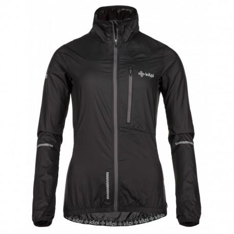 Kilpi Airrunner-W černá dámská větruodolná bunda