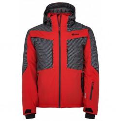 Kilpi Io-M červená pánská nepromokavá zimní lyžařská bunda