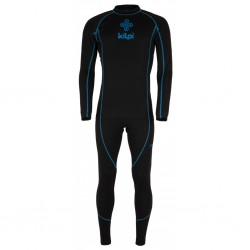 Kilpi Takaset-M černá pánské termoprádlo set triko dlouhý rukáv + spodky