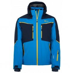 Kilpi Io-M modrá pánská nepromokavá zimní lyžařská bunda