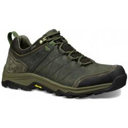 Teva Arrowood Riva WP M 1018742 BLKO pánské nízké nepromokavé kožené boty