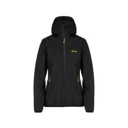 Kilpi Hurricane-W černá dámská lehká nepromokavá bunda