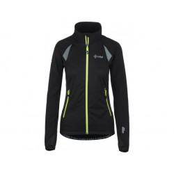 Kilpi Nordim-W černá dámská větruodolná bunda na běh nebo běžky