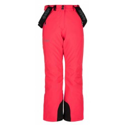 Kilpi Europa-JG růžová dětské nepromokavé zimní lyžařské kalhoty