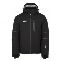 Kilpi Carpo-M černá pánská nepromokavá zimní lyžařská bunda