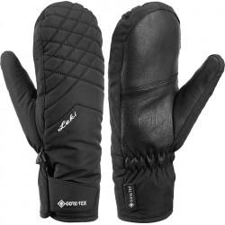 Leki Sveia GTX Lady Mitt black dámské lyžařské palcové rukavice