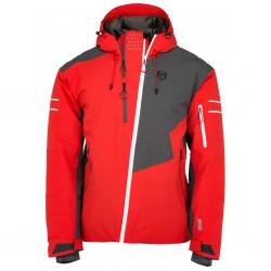 Kilpi Asimetrix-M červená pánská nepromokavá zimní lyžařská bunda