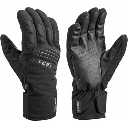 Leki Space GTX black pánské lyžařské rukavice