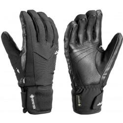 Leki Ergo S GTX Lady black dámské lyžařské rukavice