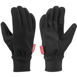 Leki Trek black pánské větruodolné rukavice Gore Windstopper