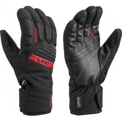 Leki Space GTX black/red pánské lyžařské rukavice