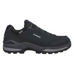Lowa Renegade GTX LO black/graphite pánské nízké nepromokavé kožené boty