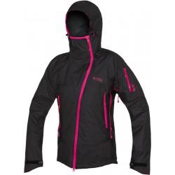 Direct Alpine Guide Lady 2.0 black/rose dámská nepromokavá bunda Gelanots HB 3L