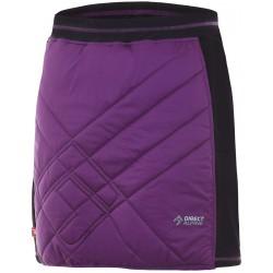 Direct Alpine Tofana Lady 2.0 violet/black dámská zateplená sukně