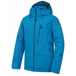 Husky Montry M modrá pánská nepromokavá zimní lyžařská bunda1