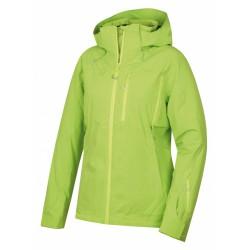 Husky Montry L výrazně zelená pánská nepromokavá zimní lyžařská bunda