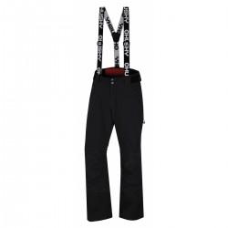 Husky Mitaly M černá pánské nepromokavé zimní lyžařské kalhoty