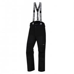 Husky Komly M černá pánské nepromokavé zimní lyžařské kalhoty