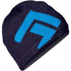Direct Alpine Kameny indigo/blue pánská pletená čepice Merino vlna