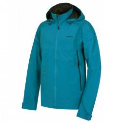 Husky Nakron M modrá pánská nepromokavá outdoorová bunda