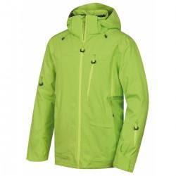 Husky Montry M zelená pánská nepromokavá zimní lyžařská bunda 1