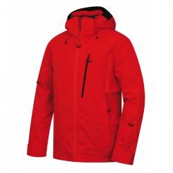 Husky Montry M červená pánská nepromokavá zimní lyžařská bunda1