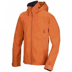 Husky Nakron M tm. oranžová pánská nepromokavá outdoorová bunda