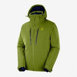 Salomon Icefrost Jkt M avocado C12230 pánská nepromokavá zimní lyžařská bunda