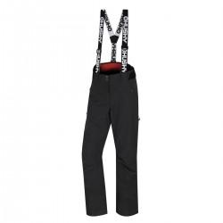 Husky Mitaly L černá dámské nepromokavé zimní lyžařské kalhoty HuskyTech 20000
