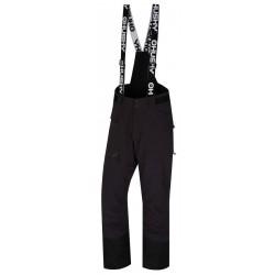 Husky Gilep M černá pánské nepromokavé zimní lyžařské kalhoty